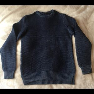 Navy Blue Express Sweater